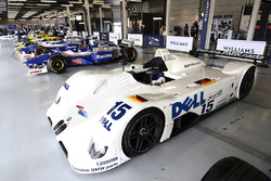 The BMW V12 LMR 1999 Le Mans winner, assorted classic Williams F1 cars