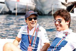 Felipe Massa, Williams; Lance Stroll, Williams