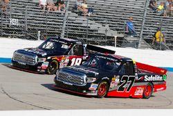 Ben Rhodes, ThorSport Racing Toyota, Noah Gragson, Kyle Busch Motorsports Toyota