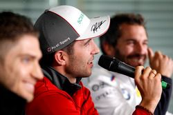 Conferencia de prensa, Mike Rockenfeller, Audi Sport Team Phoenix, Audi RS 5 DTM