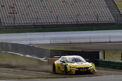 Timo Scheider et Timo Glock, BMW Team RMG, BMW M4 DTM at the Rallycross track
