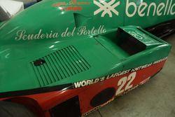 Боковой понтон Alfa Romeo 184 T