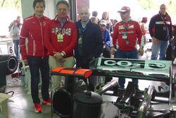 Minardi Day: Massimo Rivola, Gabriele Tredozi e Simone Resta