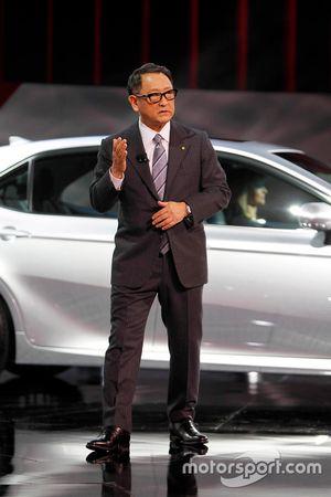 Akio Toyoda, Presidente Toyota