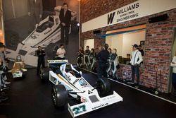 Lance Stroll, Williams, in der Williams-Erlebniswelt