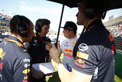 Max Verstappen, Red Bull Racing, sur la grille