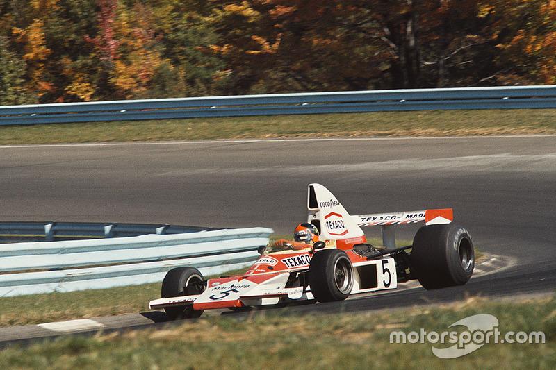 …совсем рядом в таблице располагались Лауда (38) и перешедший зимой из Lotus в McLaren чемпион мира 1972 года Эмерсон Фиттипальди (37)