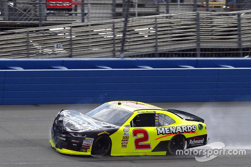 Crash: Paul Menard, Richard Childress Racing, Chevrolet