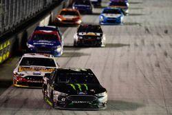 Kurt Busch, Stewart-Haas Racing Ford, Clint Bowyer, Stewart-Haas Racing Ford