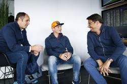 Gerhard Berger, ITR Chairman und Max Verstappen, Red Bull Racing, Florian Zitzlsperger, 2nd ITR Chairman