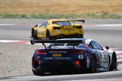 #31 TR3 Racing Ferrari 488 GT3: Daniel Mancinelli, Niccolò Schiro, #43 RealTime Racing Acura NSX GT3: Ryan Eversley, Tom Dyer