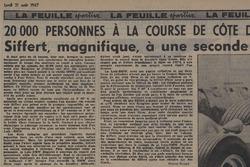 Feuille d'Avis de Lausanne, Rangiers 1967