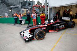 Auto de dos asiento de F1