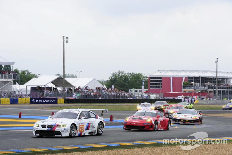 No 78, Team BMW Motorsport, BMW M3 GT2, 2010 Le Mans 24 Hours