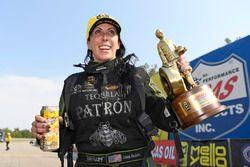 Funny Car winner Alexis Dejoria
