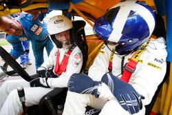 Jenson Button et David Coulthard