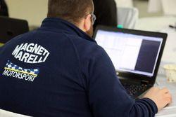 Magneti Marelli engineer at work