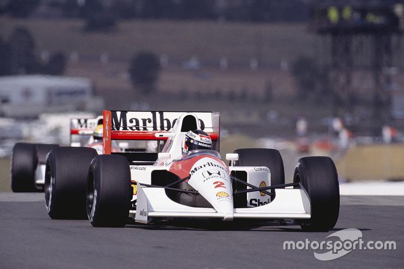 Gerhard Berger, McLaren MP4/6B Honda (1992)