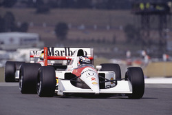 Gerhard Berger, McLaren MP4/6B Honda