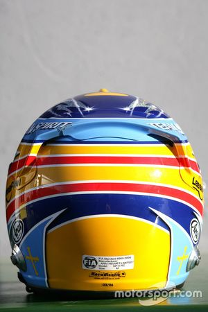 Шлем Фернандо Алонсо, Renault