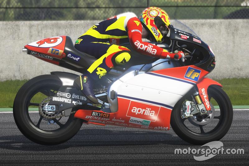 Valentino Rossi, Aprilia RSW 1998