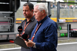 Ted Kravitz, Sky TV and Pat Symonds, Sky TV