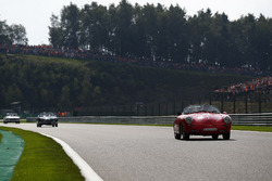 Daniil Kvyat, Scuderia Toro Rosso, lors de la parade des pilotes