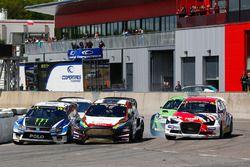 Йохан Кристофферссон, PSRX Volkswagen Sweden, VW Polo GTi, и Кевин Эрикссон, MJP Racing Team Austria