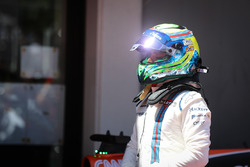 Felipe Massa, Williams in parc ferme