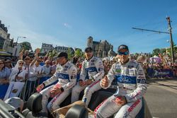 Joey Hand, Dirk Müller, Tony Kanaan, Ford Chip Ganassi Racing