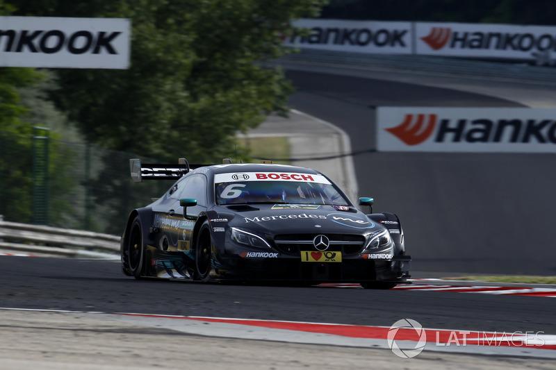 8. Robert Wickens, Mercedes-AMG Team HWA, Mercedes-AMG C63 DTM