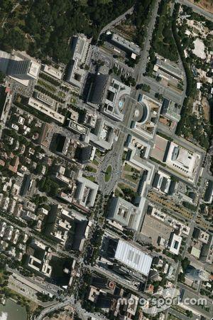 Quartiere dell'EUR a Roma