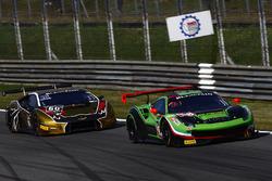#488 Rinaldi Racing, Ferrari 488 GT3: Pierre Ehret, Rino Mastronardi, #60 Raton Racing, Lamborghini