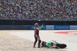 Chute de Sam Lowes, Aprilia Racing Team Gresini