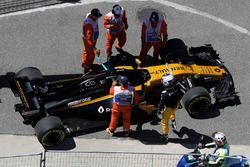 Technischer Defekt bei Sergey Sirotkin, Renault Sport F1 Team RS17