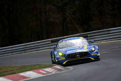#3 Black Falcon, Mercedes-AMG GT3: Dirk Müller, Thomas Jäger, Maro Engel, Jan Seyffarth