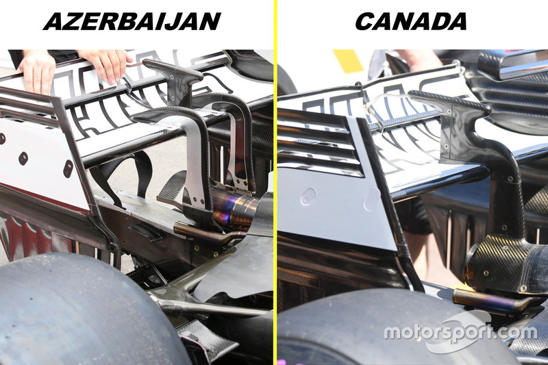 Haas F1 Team VF-17, detail