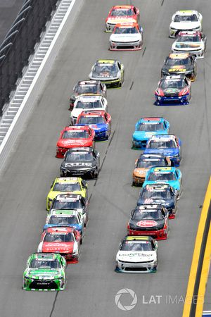 Daniel Suárez, Joe Gibbs Racing Toyota, Blake Koch, Kaulig Racing Chevrolet, Ryan Reed, Roush Fenway