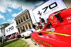 Ferrari 70th Birthday celebrated at Goodwood