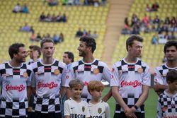 Maro Engel; Daniel Ricciardo, Red Bull Racing; Daniil Kvyat, Scuderia Toro Rosso; Carlos Sainz Jr.,