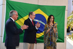 Prinz Albert von Monaco mit Bianca Senna