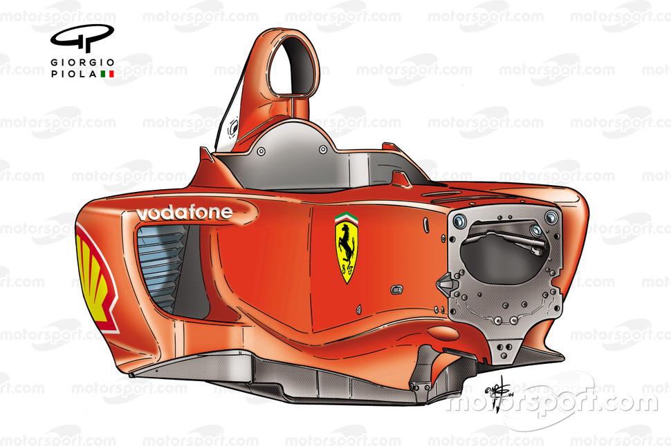 Ferrari F2004 (655) 2004, telaio