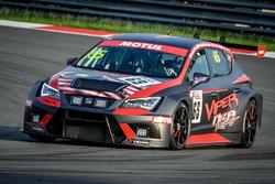 #65 Viper Niza Racing Seat Leon TC Douglas Khoo: Naoto Takeda, Takuya Shirasaka, Ate Dirk De Jong
