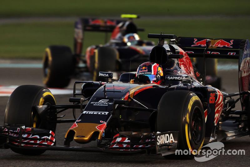 2016 год. За рулем болида Toro Rosso STR11 по ходу гонки