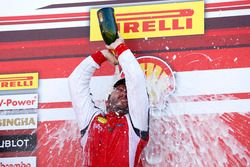 Podium: Race winner Carlos Kauffmann, Ferrari of Fort Lauderdale
