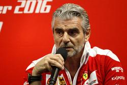 Conferencia de Prensa: Maurizio Arrivabene, Jefe de Ferrari