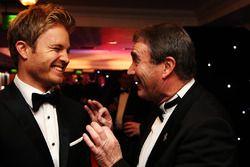 Formel-1-Weltmeister Nico Rosberg, Mercedes AMG F1, mit Nigel Mansell