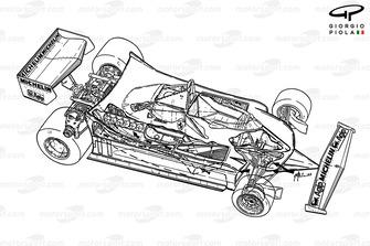 Подробная схема Ferrari 312T4