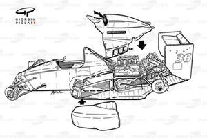 Dallara BMS-188 1988 exploded overview