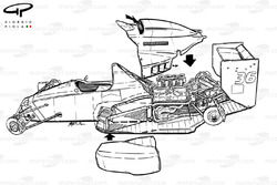 Развернутая схема Dallara BMS-188 1988 года